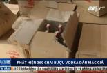 Rượu Vodka giả tràn lan trên thị trường ngày Tết