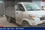 Bị phát hiện, xe tải chở hàng tấn mỡ lợn bẩn lao thẳng vào chốt CSGT