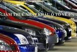 Thuế nhập khẩu ô tô giảm về 0%, giá ô tô sẽ giảm bao nhiêu?