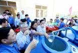 Trình diễn công nghệ 'biến' nước biển, nước mặn thành nước ngọt