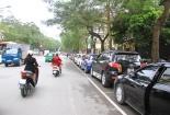 Hà Nội: Xe ô tô chuyển từ đỗ chéo sang đỗ dọc