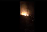 Clip: Cháy lớn kinh hoàng tại Thanh Hóa