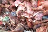 Bắt giữ 400 kg nầm lợn tẩm hóa chất nhập từ Trung Quốc