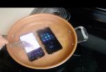 Màn thử thách 'luộc' iPhone 7 plus và Samsung Galaxy S8 với nước sôi