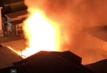 TP.HCM: Cháy lớn kinh hoàng tại trung tâm thành phố