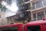 Clip: Cháy lớn tại quán karaoke trên phố Mai Hắc Đế