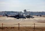 Tiêm kích, trực thăng Nga dàn đội hình cho lễ duyệt binh