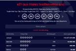 Xổ số Vietlott: Vé trúng thưởng kỷ lục hơn 112 tỷ đồng được mua ở Hà Nội