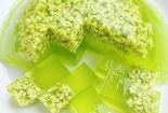Có một mùa thu dịu dàng trong món thạch cốm xanh mát ai cũng có thể làm được