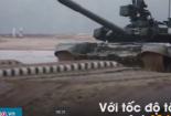 Nga trình diễn uy lực của xe tăng T-90