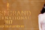 Huyền My trong video tham dự Hoa hậu Hòa bình Thế giới 2017