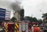 Hai chị em tử vong trong vụ cháy ngôi nhà 5 tầng tại Hà Nội