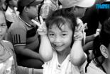 Trung thu của những trẻ em vùng biên giới Việt Nam - Campuchia