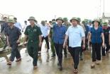 Thủ tướng hủy họp, đi thị sát, chỉ đạo phòng chống lụt bão