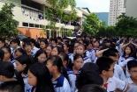 Video: Hơn 1000 học sinh hát vang ca khúc Lương Thế Vinh vĩnh biệt thầy Văn Như Cương