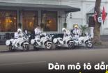 Cận cảnh dàn mô tô dẫn đoàn của Công an Việt Nam
