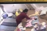Video: Kinh hoàng giúp việc 'tung hứng' đánh đập em bé hơn 1 tháng tuổi