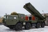 Video: Chết khiếp với hệ thống pháo phản lực Nga diệt mục tiêu