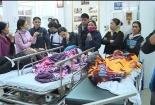 16 trẻ nhập viện do sập lan can trường học