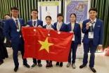 Sáu học sinh Việt đoạt huy chương tại kỳ thi Olympic khoa học trẻ quốc tế