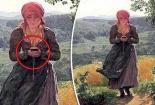 Vén màn bí ẩn bức tranh cô gái cầm 'Iphone X' cách đây gần 200 năm