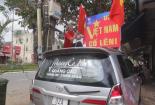 Doanh nghiệp mua cờ, in băng rôn cho nhân viên cổ vũ U23 Việt Nam