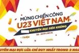 Thị trường 'bão' giảm giá ủng hộ U23 Việt Nam