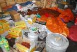 Tịch thu 2 tấn mứt bẩn từ Trung Quốc