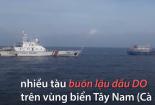 Liên tiếp bắt giữ 600.000 lít dầu buôn lậu trên biển
