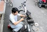 Kiếm tiền triệu mỗi ngày nhờ biến xe đạp thành xe điện