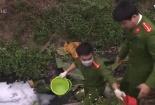 Hưng Yên: Công ty xả thẳng hóa chất nhuộm ra kênh Bắc Hưng Hải gây ô nhiễm nghiêm trọng