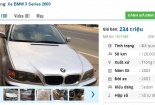 Những chiếc ô tô BMW cũ này đang rao bán tầm giá 200 triệu tại Việt Nam