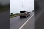 Gây tai nạn xong xe bán tải còn 3 bánh vẫn chạy trốn 50km