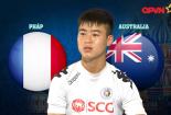 Duy Mạnh nhận định trận đấu Pháp vs Australia