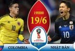 Truyền hình trực tiếp World Cup 2018 trận Colombia và Nhật Bản hãy chọn kênh có bản quyền