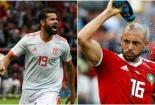 Truyền hình trực tiếp World Cup 2018 trận Tây Ban Nha và Maroc hãy chọn kênh có bản quyền
