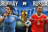 Truyền hình trực tiếp World Cup 2018 trận Uruguay và Nga hãy chọn kênh có bản quyền