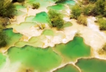 Thung lũng có hàng trăm hồ nước đủ màu ở Trung Quốc