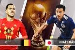 Truyền hình trực tiếp World Cup 2018 trận Bỉ và Nhật Bản hãy chọn kênh có bản quyền