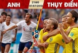 Truyền hình trực tiếp World Cup 2018 trận tứ kết Thụy Điển - Anh hãy chọn kênh có bản quyền