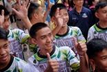 Đội bóng Thái lần đầu tiết lộ câu chuyện phi thường trong hang Tham Luang