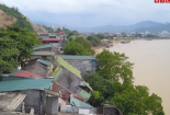 Clip: 6 nhà dân bị kéo sập xuống sông Đà tại Hòa Bình nhìn từ flycam