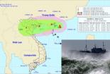 Tin mới nhất về đường đi của bão số 4 giật cấp 10, tiến thẳng vào miền Bắc