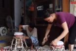 Video: Nghệ nhân thoăn thoắt làm 100.000 trống Trung thu vẫn không đủ bán
