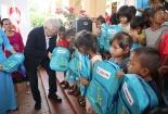 Hỗ trợ vùng đặc biệt khó khăn ở Quảng Trị xây trường học