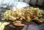 Kinh hãi măng tươi 'nhuộm vàng' bằng hóa chất nhuộm vải công nghiệp