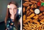 22 năm ăn gà rán và khoai tây chiên, người phụ nữ suýt mù