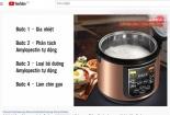 Công dụng nồi cơm tách đường: Thổi phồng hay thực tế?