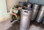 Bình Phước: Phát hiện, thu giữ 900 lít bia hơi không rõ nguồn gốc