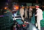 Hà Tĩnh bắt giữ 2 xe chở hàng lậu